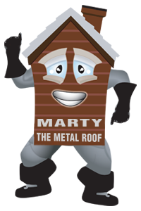 marty the metal roof